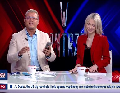 Niespodziewany dźwięk w TVP Info. Jakimowicz udawał rozmowę z teściową:...