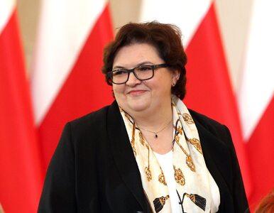 Jest wniosek o odwołanie Elżbiety Bojanowskiej z MRPiPS. Odpowiadała za...