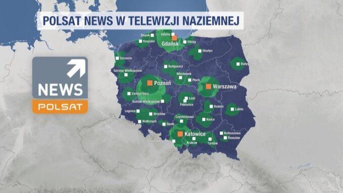 Polsat News wtelewizji naziemnej