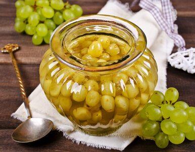 Marynowane winogrona w occie. Będą hitem każdej imprezy