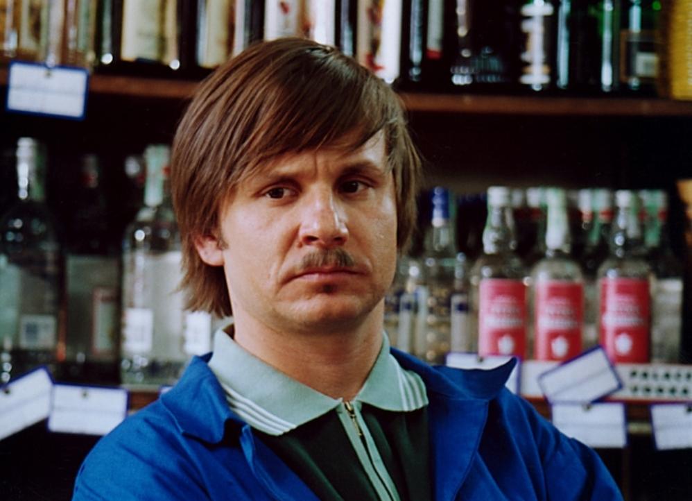 Jak miał na imię sklepikarz, którego grał Bartłomiej Topa?