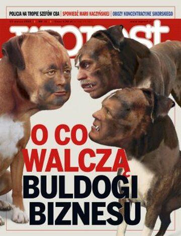 Okładka tygodnika Wprost nr 12/2008 (1317)