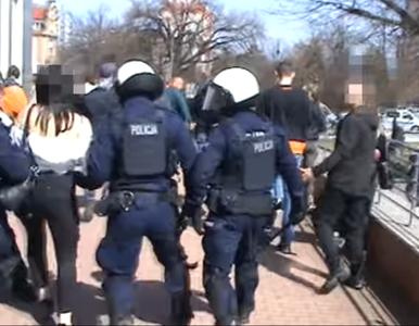 """""""Wiadomości"""" TVP o interwencji w Głogowie. """"Opozycja zachęca do bicia..."""