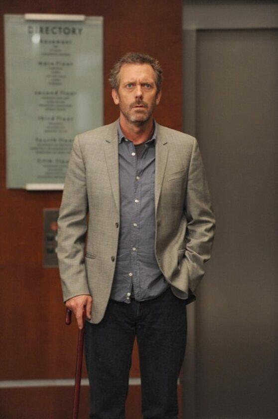 Hugh Laurie w roli dr House'a