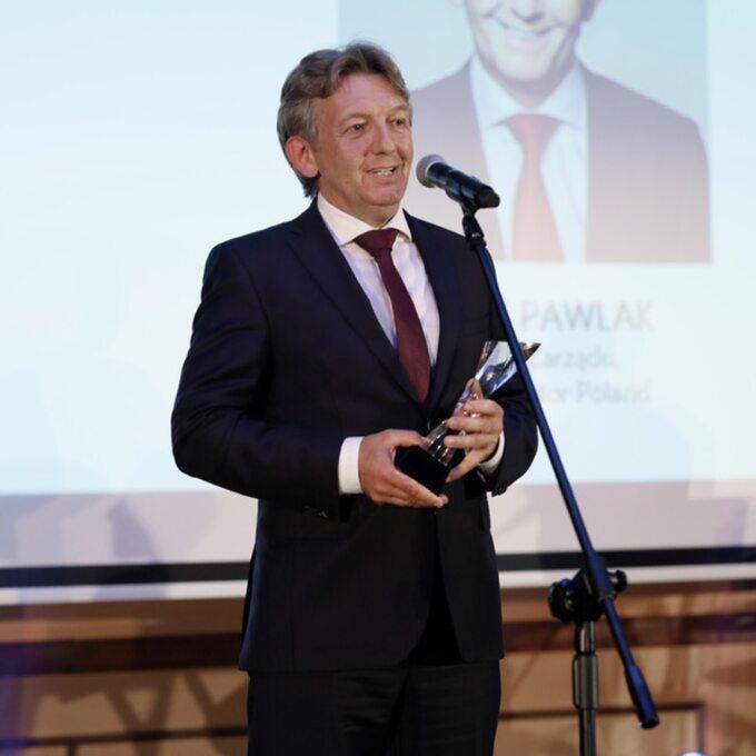 Jacek Pawlak, prezes Toyota Motor Poland iToyota Central Europe