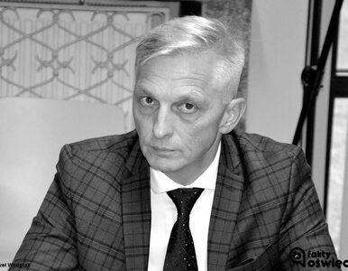 Nie żyje starosta oświęcimski Marcin Niedziela. Miał 56 lat