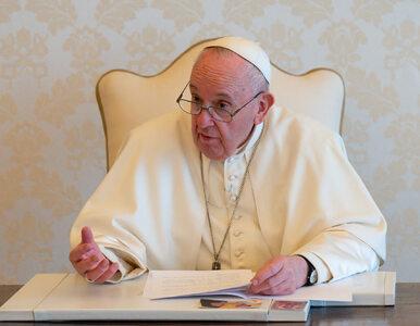 """Papież napisał do polskiego ministra. """"Konflikty, kryzys gospodarczy i..."""
