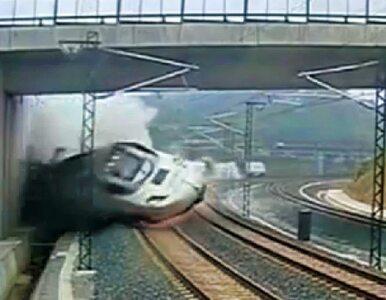 Maszynista pociągu z Hiszpanii aresztowany. Odnaleziono czarną skrzynkę