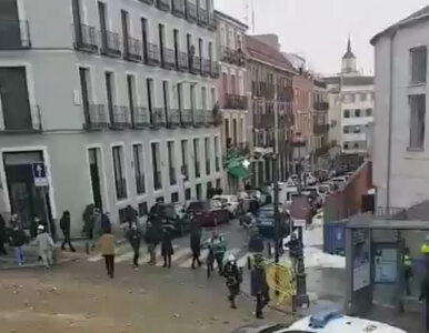 Silna eksplozja w centrum Madrytu. Co najmniej dwie osoby nie żyją