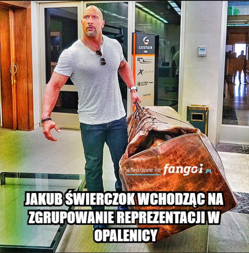 Mem po meczu Polski z Rosją