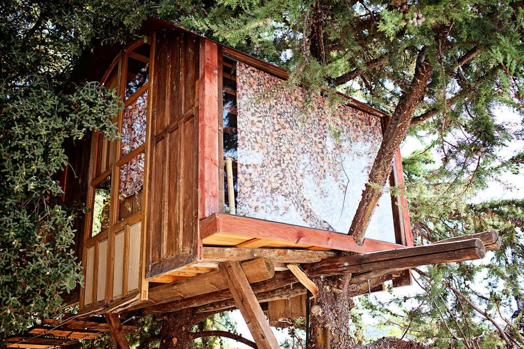 Domek na drzewie, Huétor de Santillán, Andaluzja, Hiszpania, od 30$/noc