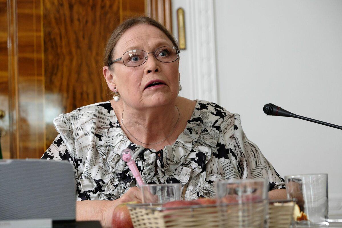 Iwona Bielska jako posłanka