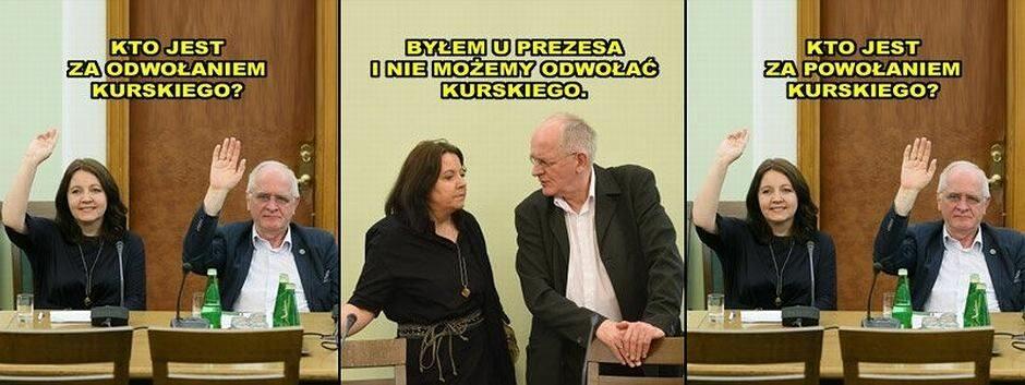 Mem po powrocie Jacka Kurskiego