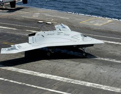 Amerykański bezzałogowy samolot zatankował w powietrzu. Pierwszy taki...