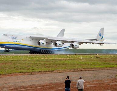 Największy samolot świata wyląduje w Polsce dopiero po raz trzeci. Na...