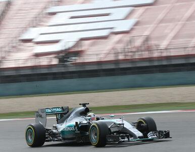 Hamilton bezkonkurencyjny na treningach przed GP Chin