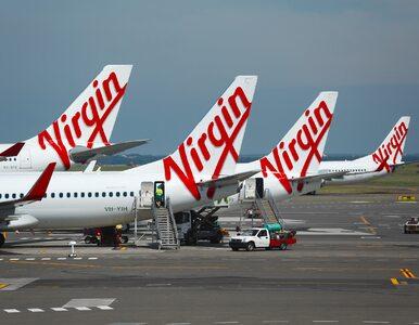 Linie lotnicze Virgin ogłaszają upadłość. Ich właścicielem jest...