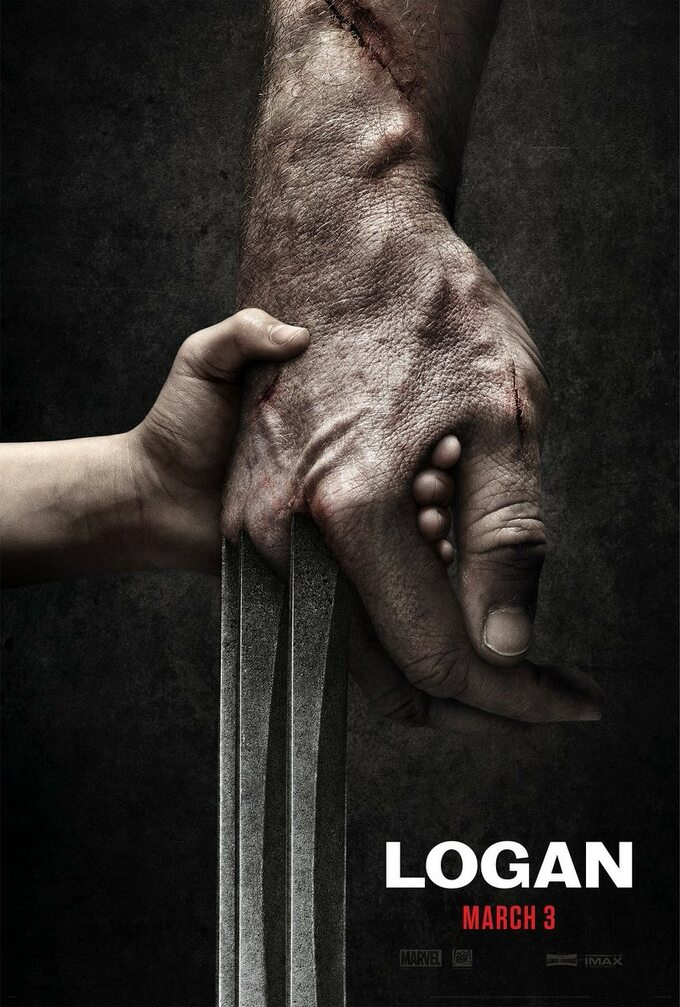 "plakat dofilmu ""Logan"" (2017)"