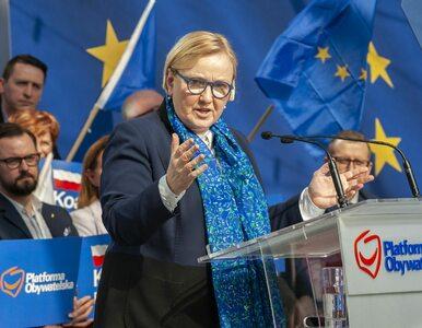 Przekop Mierzei Wiślanej. Róża Thun krytykuje polityków Platformy: To...