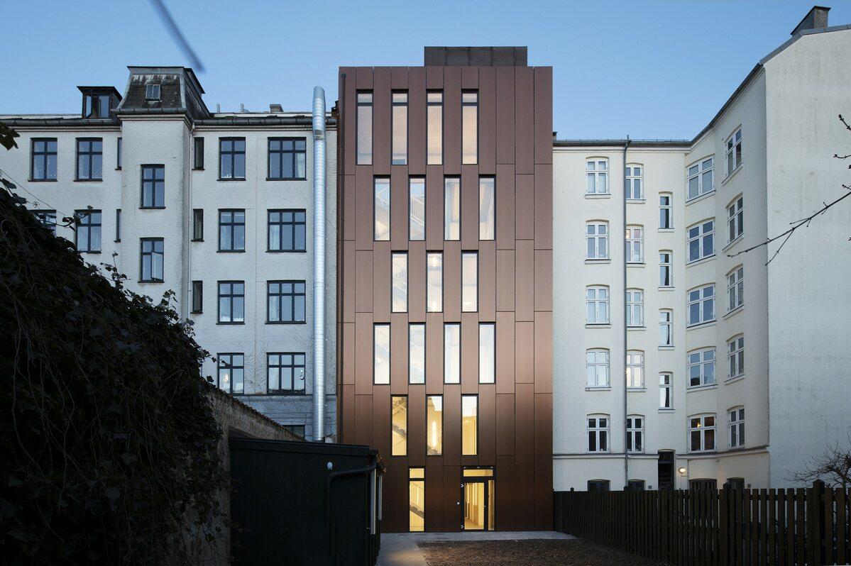 Youth Housing, Nansensgade Youth Housing, Nansensgade w Kopenhadze
