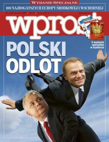 Okładka tygodnika Wprost nr 43/2008 (1348)