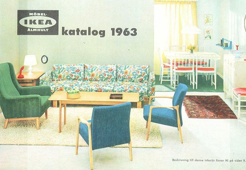 Okładka katalogu IKEA z 1963 roku