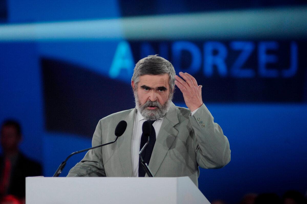 Janusz Rewiński w 2015 roku