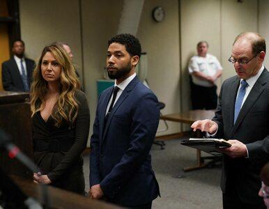 Jussie Smollett oczyszczony z zarzutów. Aktor wydał oświadczenie