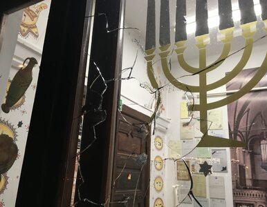 Atak na synagogę w Gdańsku. Policja szuka sprawcy