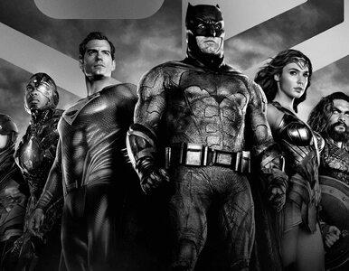 """""""Ligę Sprawiedliwości Zacka Snydera"""" od dziś też w czarno-białej wersji...."""