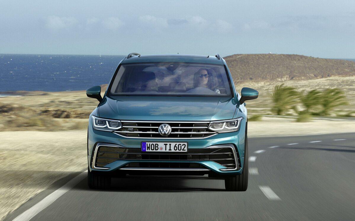 Nowy Volkswagen Tiguan