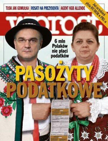 Okładka tygodnika Wprost nr 19/2008 (1324)