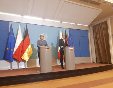 Morawiecki po spotkaniu z Merkel: Polska będzie miała w osobie kanclerz...