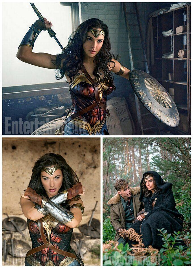 Zdjęcia zplanu Wonder Woman