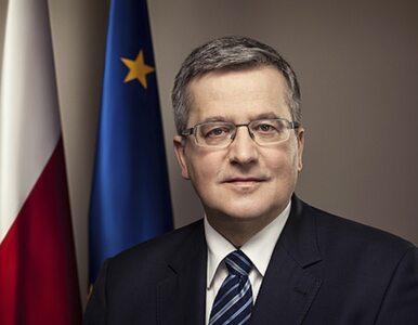 Komorowski: Na Ukrainie trwa wojna. Unijnym politykom mogę zarzucić, że...