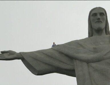 Brazylijczycy szykują się na mundial i naprawiają... Palec Chrystusa