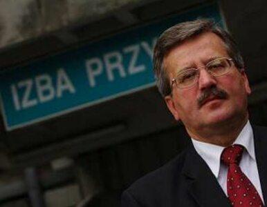Komorowski pozostaje marszałkiem Sejmu
