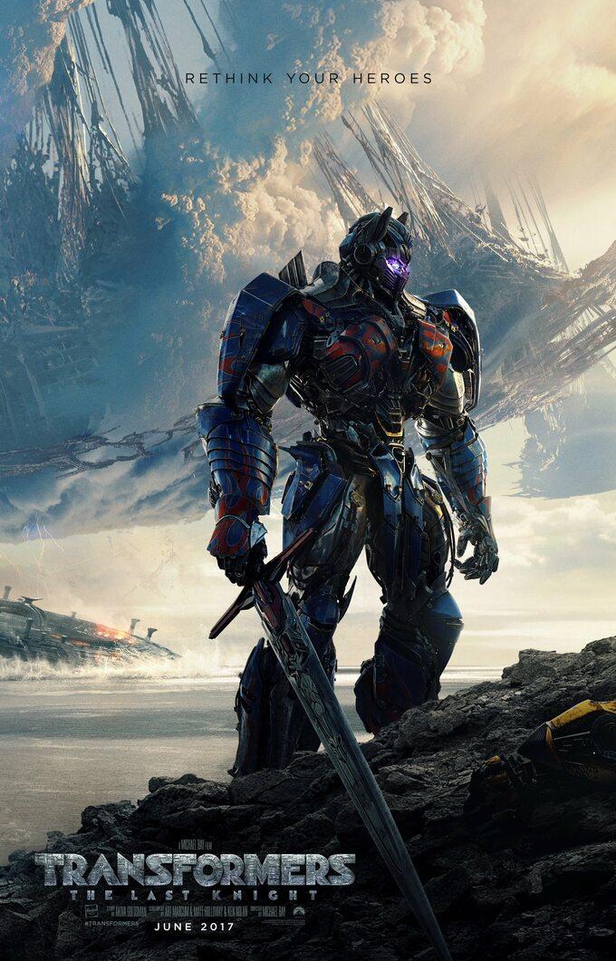 """plakat filmu """"Transformers: TheLast Knight"""" (2017)"""