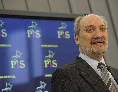 Macierewicz: w Moskwie obwinią Polskę za Smoleńsk