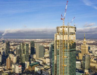 Nowy najwyższy budynek w Polsce, a już niebawem w całej UE. Główna część...