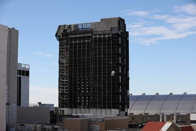 Wyburzenie Trump Plaza Casino w Atlantic City