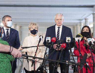 Gowin: W tej chwili sytuacja jest jasna - ja jestem po stronie opozycji....
