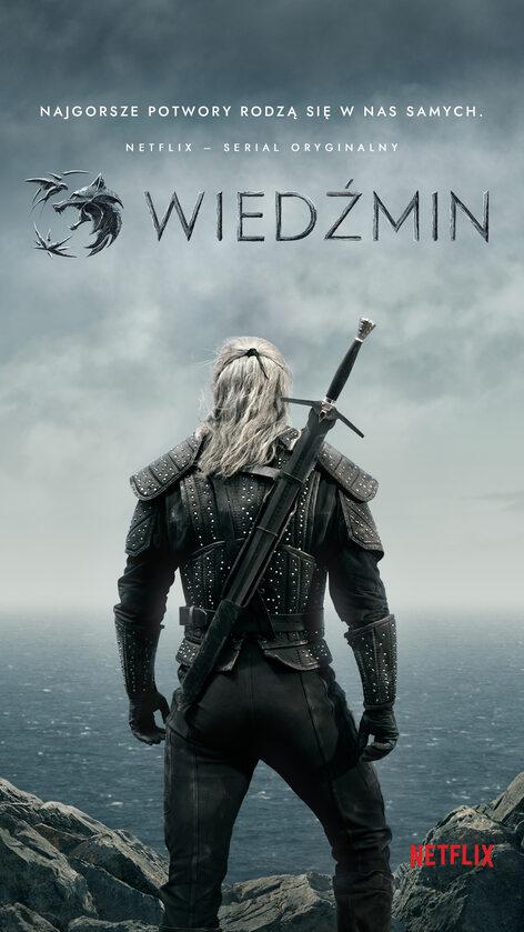 """Plakat serialu """"Wiedźmin"""""""