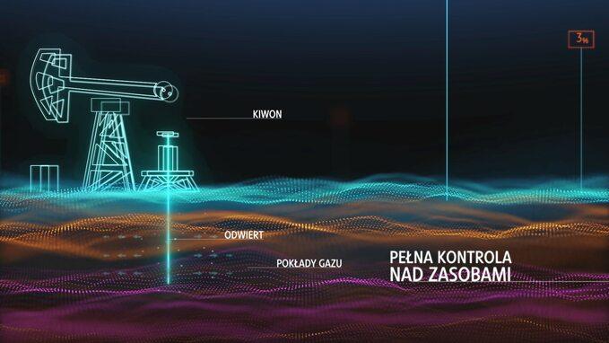 Kadr zfilmu ocyfrowym złożu