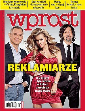 Okładka tygodnika Wprost nr 13/2011 (1468)
