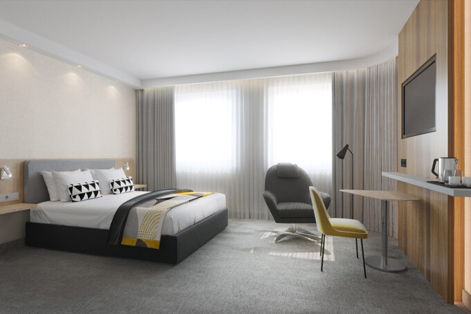 Hotel Holiday Inn Express wLublinie – pokój