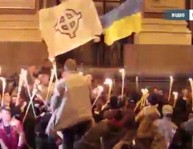 Zamieszki podczas marszu nacjonalistów w Kijowie