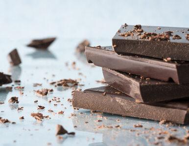 Lubisz gorzką czekoladę? Oto powód, by sięgać po nią częściej. Badania...