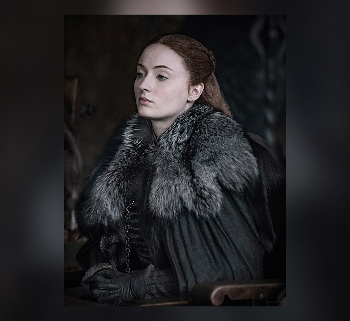 Sansa Stark w 8. sezonie serialu Teraz Sophie Turner ma 23 lata.