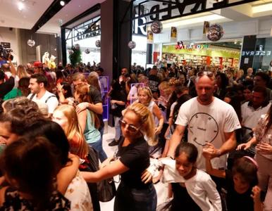 Dantejskie sceny na otwarciu polskiego sklepu w Izraelu